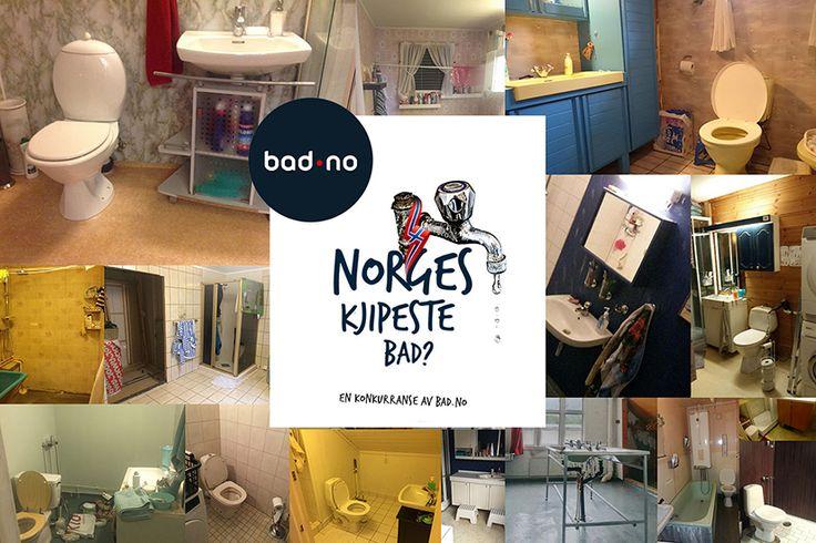 Vi fikk over 600 bidrag i konkurransen om å kåre Norges kjipeste bad.