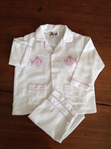 Pink Fish Flannelette Pyjamas – minorbyrd.com.au