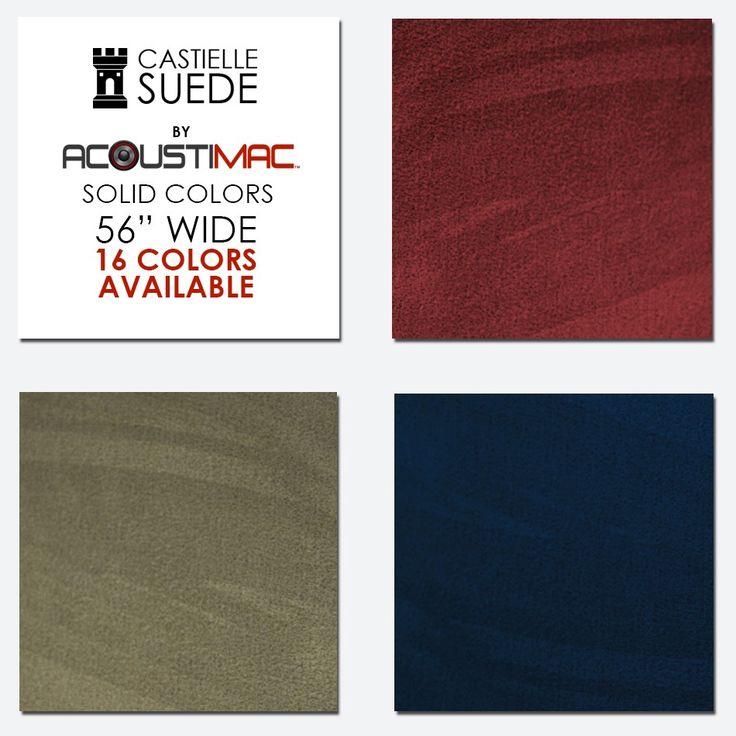 Acoustic Fabric in microsuede - Acoustimac