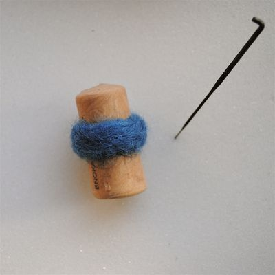 Needle felt ring tutorial