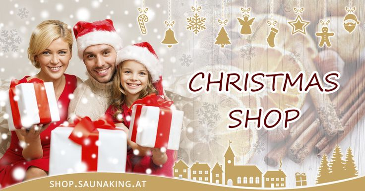 Mit der Einführung des neuen SAUNA KING Christmas Shop bieten wir Ihnen eine neue Plattform an, mit der Sie unser vielfältiges Produktangebot shoppen und erleben können!  #Saunaking #Christmas_Shop