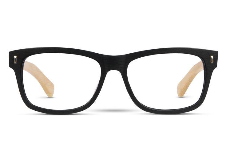 Sneaking Duck: Blackcurrant Phaser - Square,Wayfarer-style shape frames.