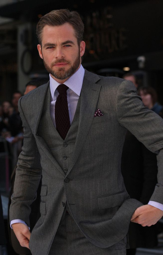 Best 25  Mens gray suit ideas on Pinterest | Nice suits, Mens 3 ...