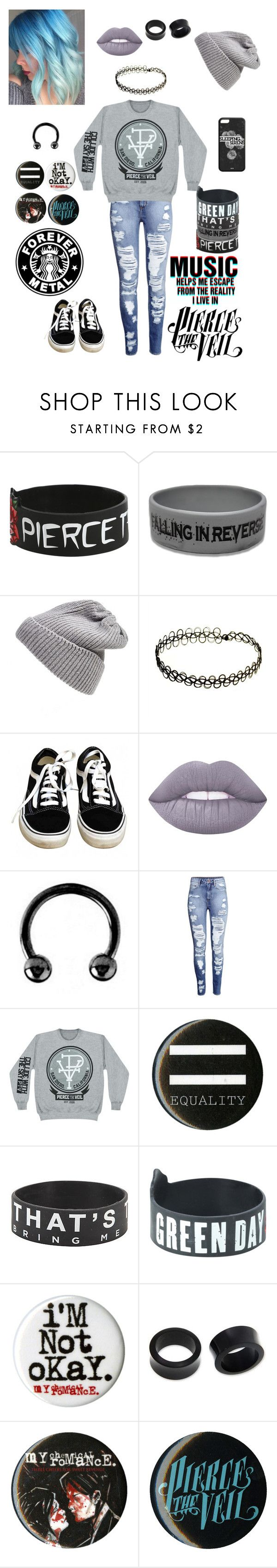 """""""Neutral Outfit"""" by chemicalfallout249 ❤ liked on Polyvore featuring UGG Australia, Vans, Lime Crime, Urbiana, H&M and NOVICA"""