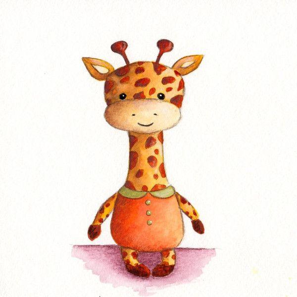милый жираф картинка милый признается, что