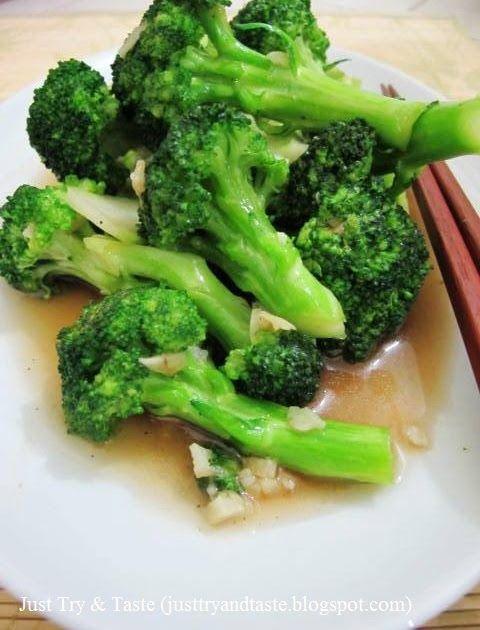 tumis brokoli dengan bawang putih nan simple dan sehat