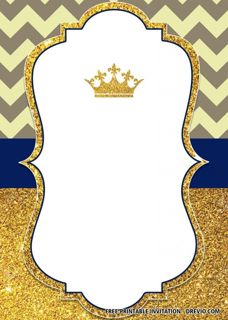 Free Printable Prince Invitation Templates Birthday Invitation Card Template Prince Birthday Invitations Baby Shower Invitation Templates