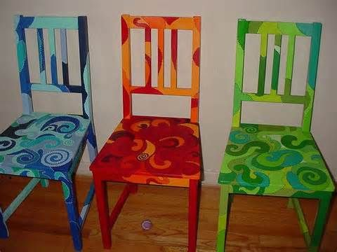 Funky Painted Furniture Ideas Home Pinterest