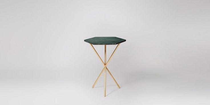 Bilbao Black Marble Side Table | Swoon Editions