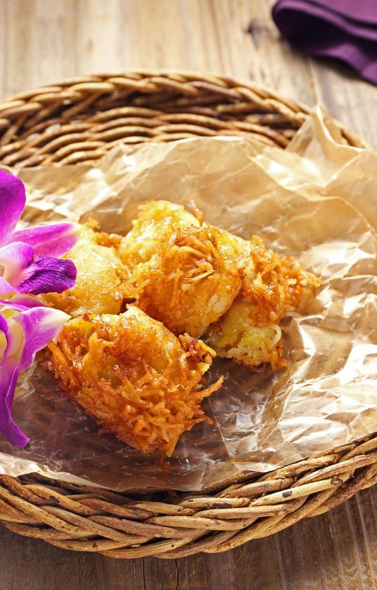 ココナッツ風味のバナナ揚げ by 川崎利栄さん / 外はカリっ!中はとろ〜り。あま〜いデザートです。 / ナディア