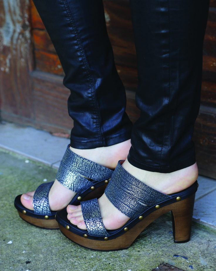 Milán Luisa - Supreme Black/Silver Kebba Shoes
