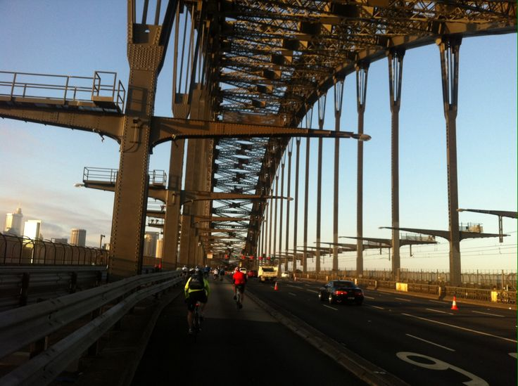 Sydney Spring Cycle: gives you the unique chance to ride across the Harbour Bridge, through the city, The Rocks and across the the top of Circular  Quay - no cars. #cycling #ride #bike #explore #sydney