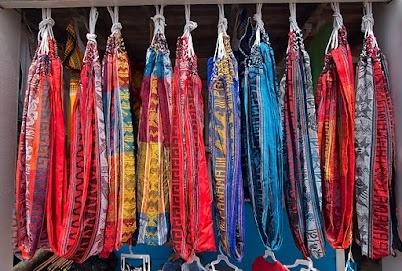 Colorful Bocas Town Hammocks - Bocas del Toro, Panama