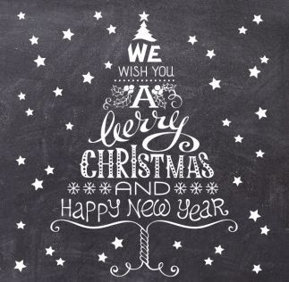 Image result for Chalk pen christmas window