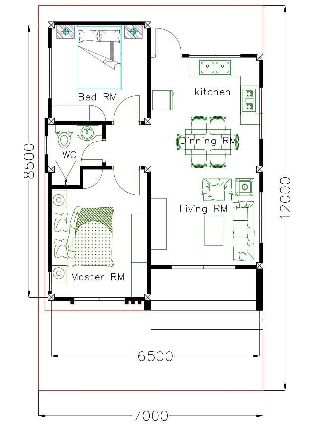 Small House Plan Ideas For Different Area Engineering Discoveries Small House Plan Small House Floor Plans House Plans