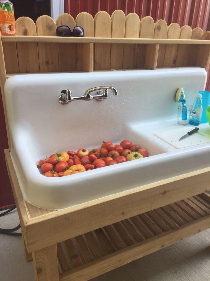 Best 25 outdoor kitchen sink ideas on pinterest patio for Outdoor kitchen sink ideas
