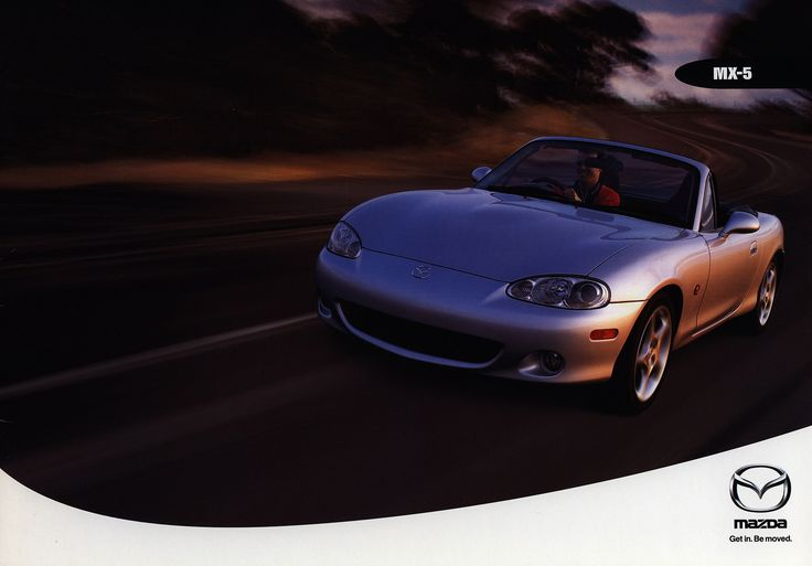 https://flic.kr/p/GdkU4p | Mazda MX-5; 2000_1  (Australia) | front cover car brochure by worldtravellib World Travel library