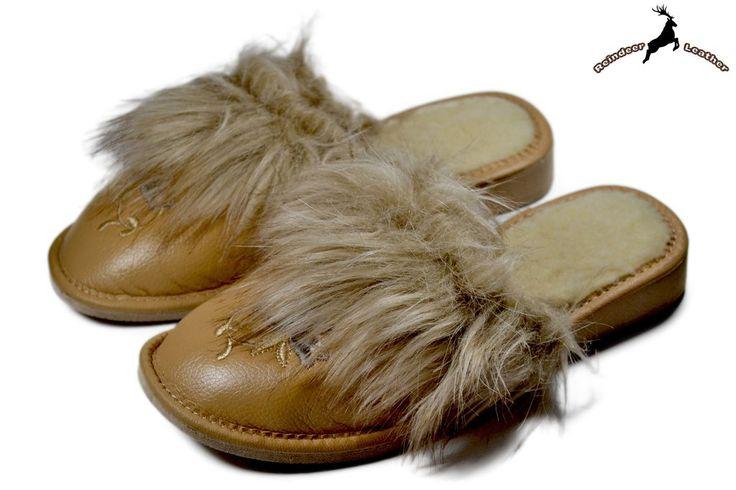 Lorna Furry Comfy Winter Scuff