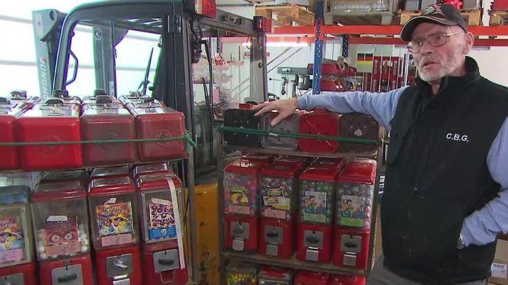 Relikt aus einer anderen Zeit: Hinter Kaugummiautomaten steckt echte Handarbeit