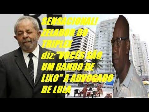 """SENSACIONAL!ZELADOR DO TRIPLEX diz:""""VOCÊS SÃO UM BANDO DE LIXO"""" e ARREBE..."""