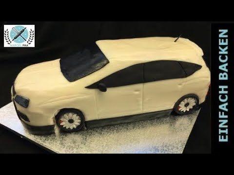 SEAT 3D Torte/Car Cake Tutorial/Anleitung mit Rezept I Einfach Backen - Marcel Paa - YouTube