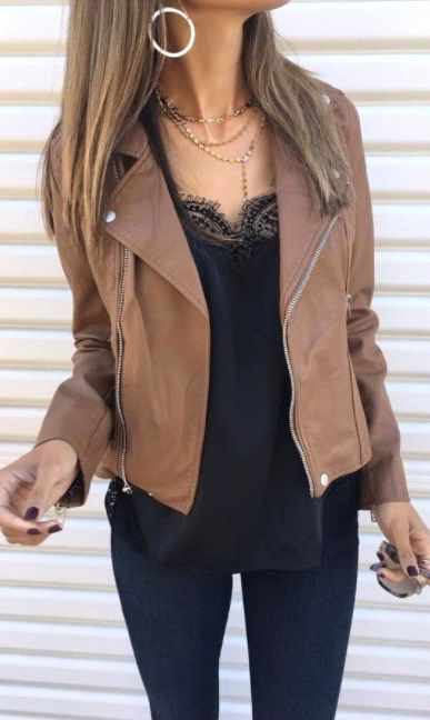 30 casual suede jacket outfits