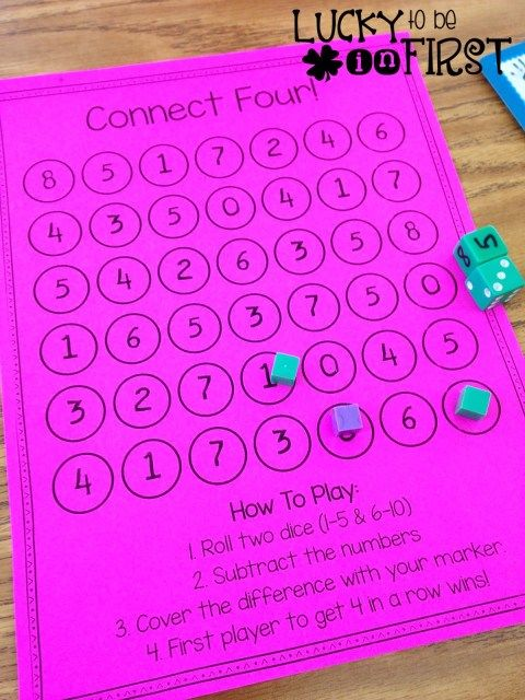 Connect Four Addition & Subtraction! Math Mania Games! FREE Games to Help Build Math Skills