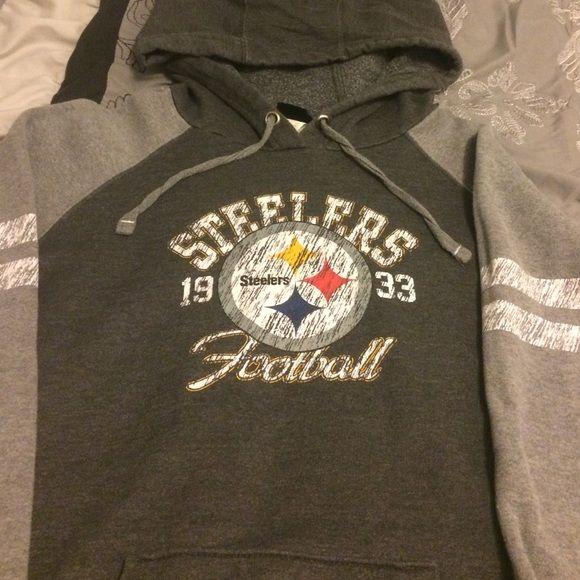 Steelers hoody Steelers Vintage style hoody. Super soft and comfortable. Sweaters