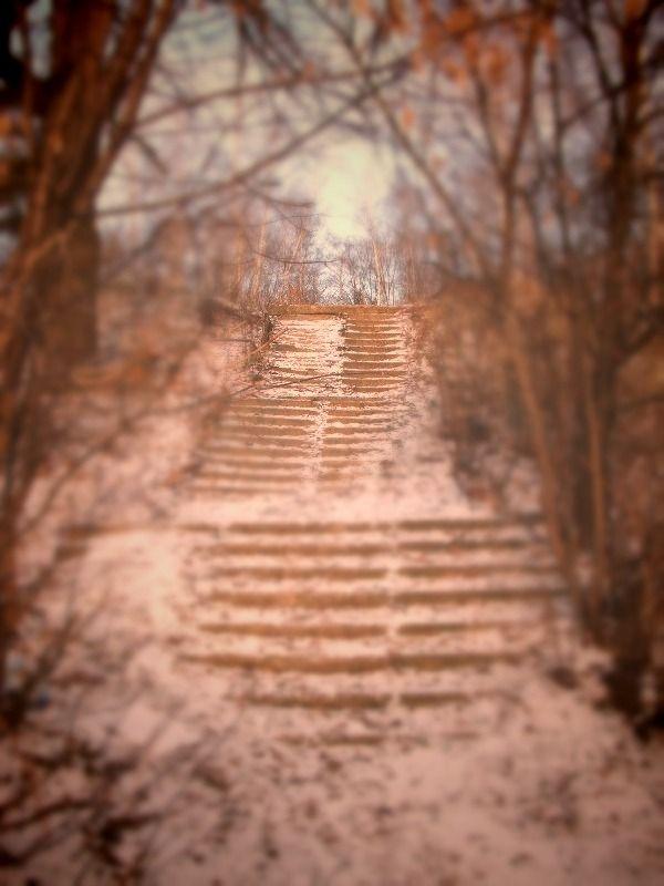 Лестница в прошлое.