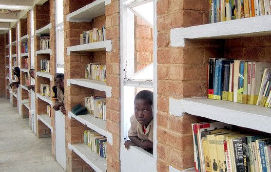 Katiou Library,Courtesy of Albert Faus