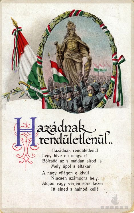 "The Szózat (""Appeal"" or ""Summons"") is considered Hungary's second national anthem, after the Himnusz. The official anthem is sung at the beginning of ceremonies, and Szózat is sung at the end."