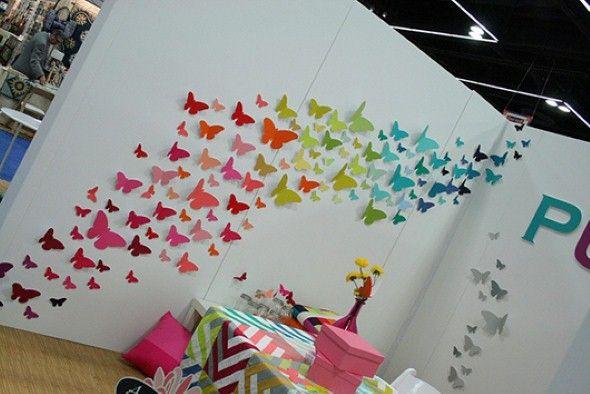 Como fazer enfeites de borboleta 005
