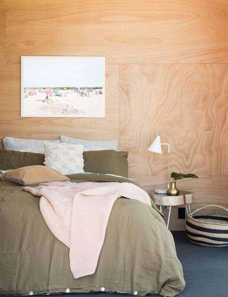 Alex Walls from The Block NZ puts an earthy twist on a bach bedroom