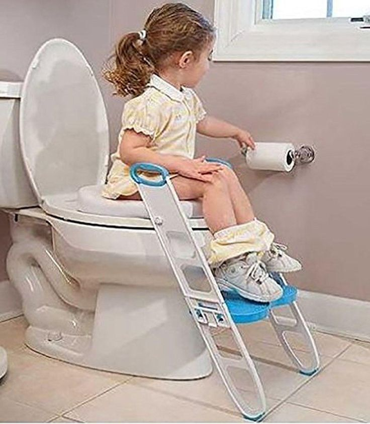Toilet Training Seat Toddler Potty Trainer Folding Adjustable Kids Step Stool - Brought to you by Avarsha.com