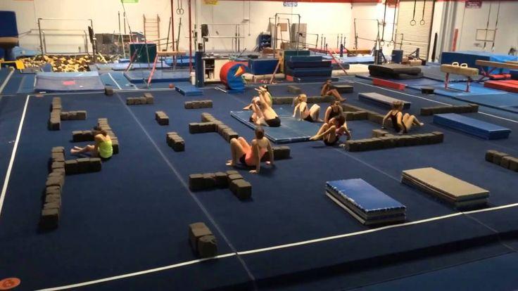 Gymnastics PAC-MAN