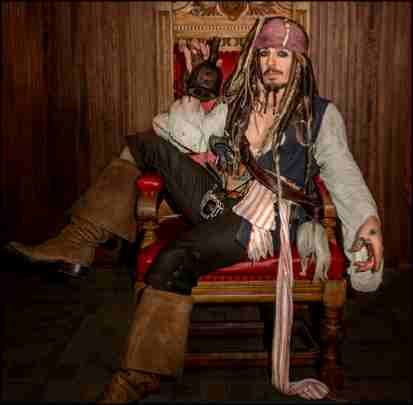 jonny depp _ captain jack sparrow look alike