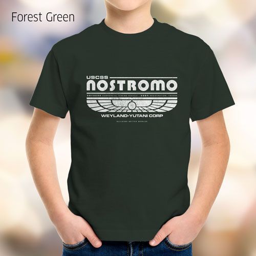 """USCSS Nostromo - Weyland-Yutani Corp. This tribute t-shirt is inspired by the 1979 movie """"Alien"""" - no copyright infringement intended. #MoviTees #MovieInspired #tshirt $19.99"""