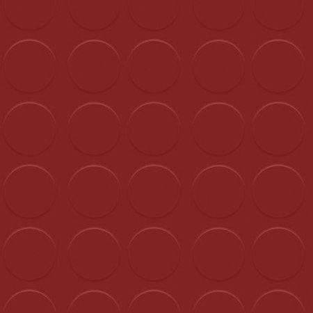 Suelo de goma Círculos Granate