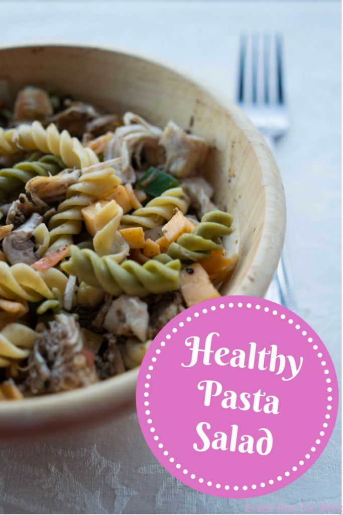 To celebrate my birthday, I am sharing one of my favorite recipes - healthy pasta salad. Check it out for an easy, nutritious one-bowl lunch or dinner.