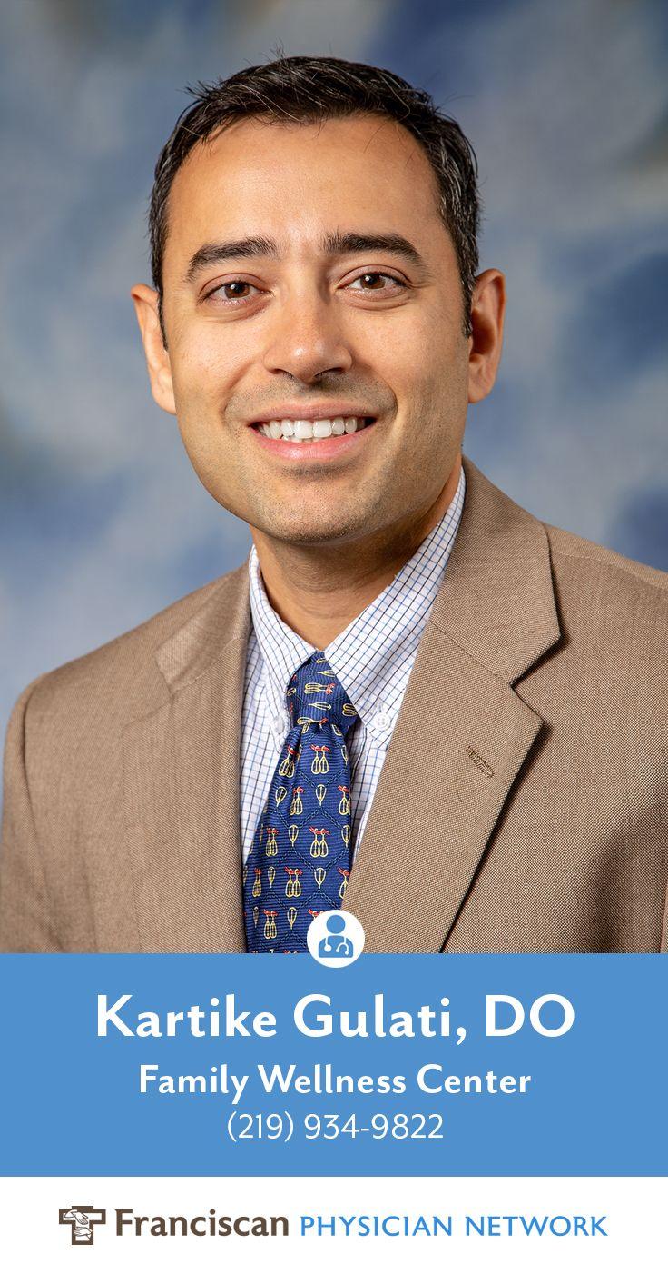 Otolaryngologist Dr. Kartike Gulati has joined Franciscan