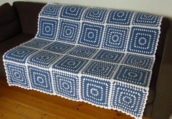 Crochet Afghan Crochet Blanket Afghan Blanket by PhoenixSmiles