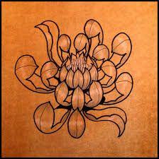 Afbeeldingsresultaat voor chrysant drawing