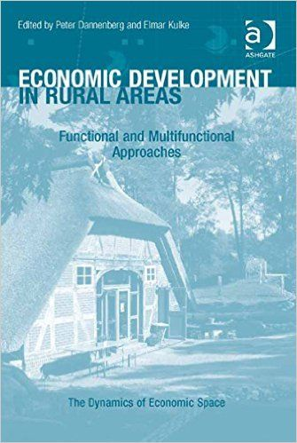 Economic development in rural areas: functional and multifunctional approaches (EBOOK) http://search.ebscohost.com/login.aspx?direct=true&scope=site&db=nlebk&db=nlabk&AN=987035 Analysing the ongoing changes and dynamics in rural development from a functional perspective through a series of case studies from the global north and south, this volume deepens our understanding of the importance of new functional and multifunctional approaches in policy, practice and theory.