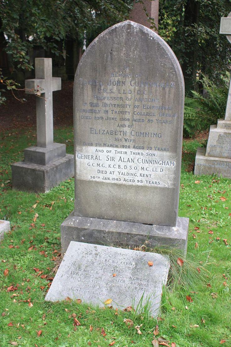 Cunningham grave, Dean Cemetery - Alan Cunningham - Wikipedia, the free encyclopedia
