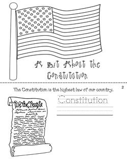 Best 25 constitution ideas on pinterest constitutional for Constitution day coloring pages kindergarten