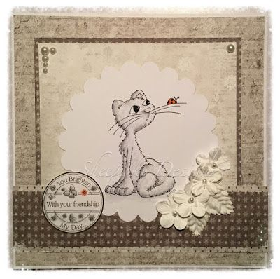 Mew-vellous Whiskers Moggie - Time for Tea Designs