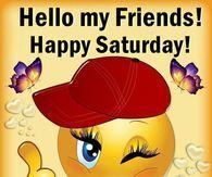 Happy Smiley Happy Saturday