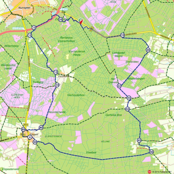 Fietsroute: Hartje Veluwe  (http://www.route.nl/fietsroutes/117306/Hartje-Veluwe/)