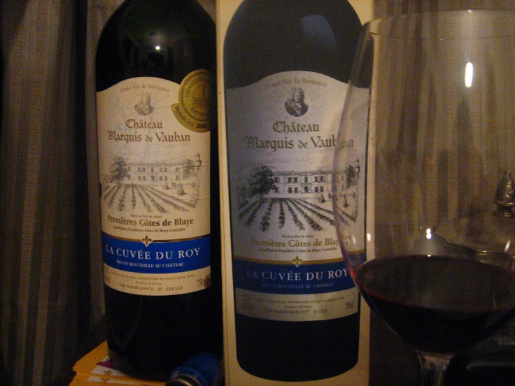 Fond memories of wine and France!  Gorgeous robust wine from the town De Blaye, in Bordeaux, France.