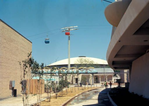 Skyride And Mini Monorail Hemisfair 68 San Antonio